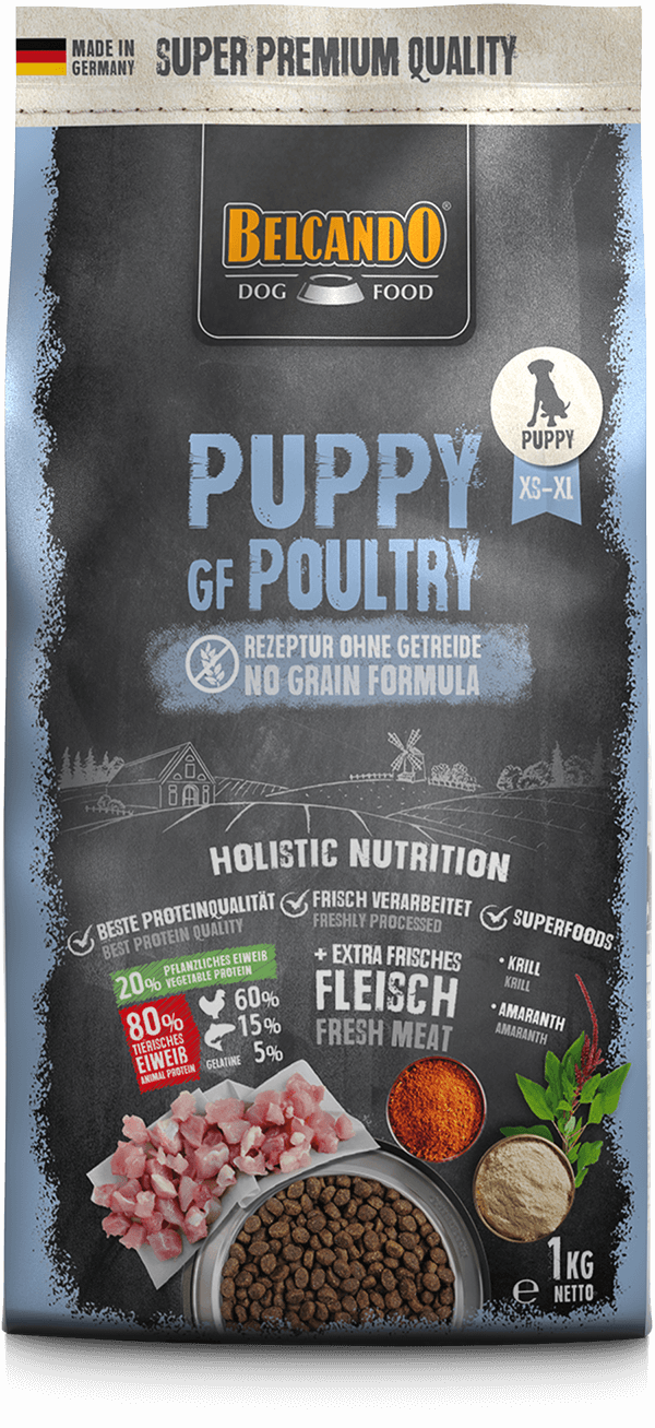 Belcando-Puppy-GF-Poultry-1kg-front